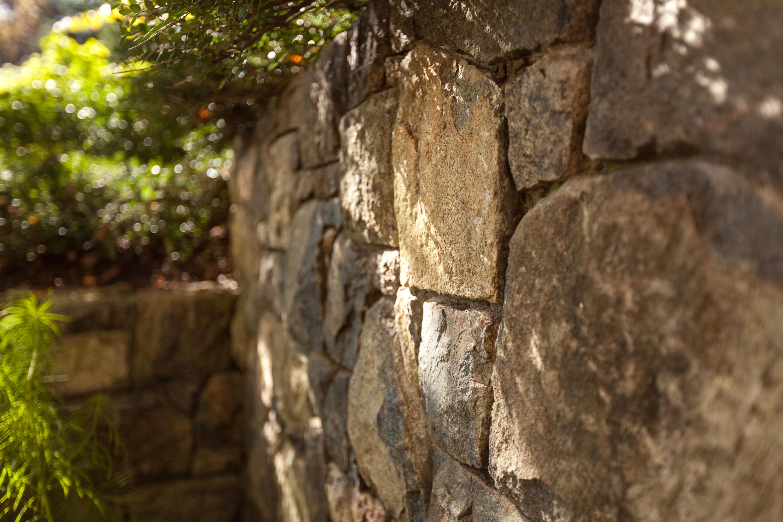 Beautiful Stone Masonry Wall