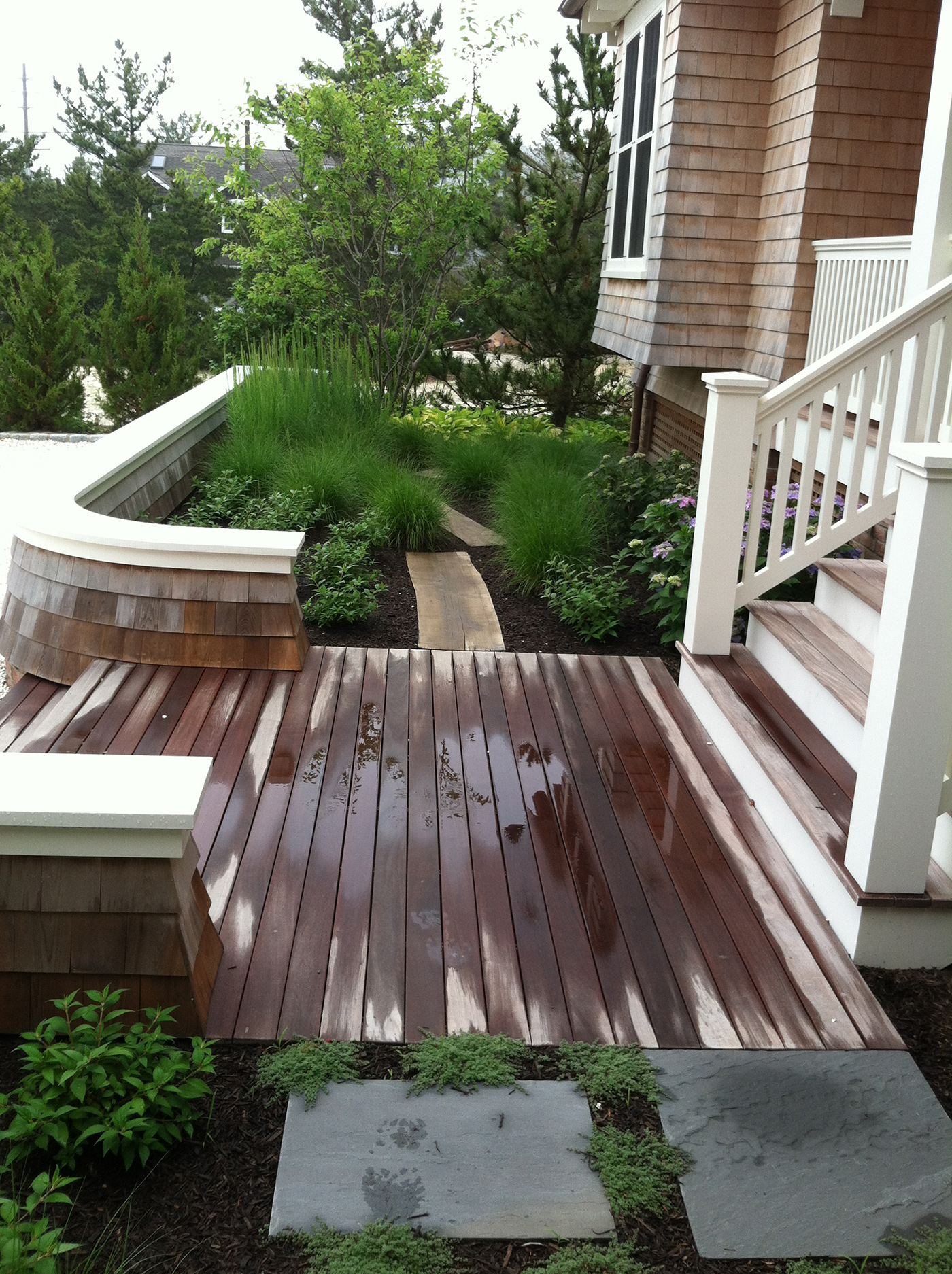 Oceanfront Beauty - Luxury Landscaping at the Jersey Shore