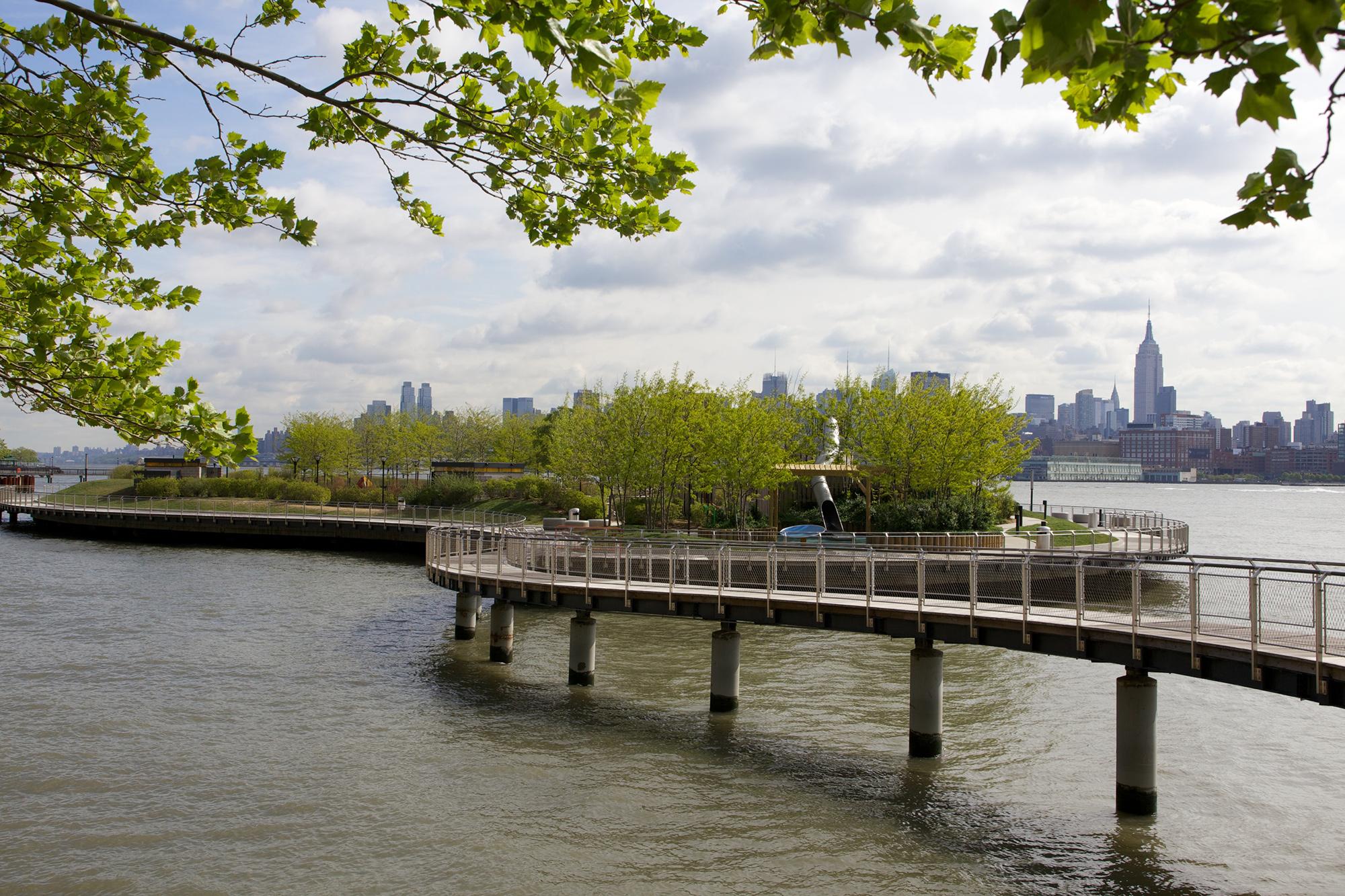 Planting Contractor - Children's Park in Hoboken, NJ
