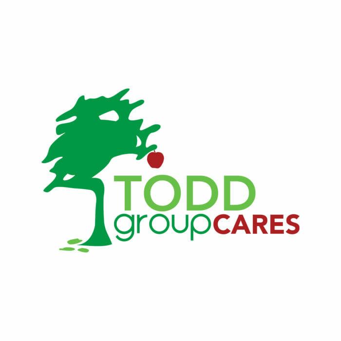 The Todd Group Cares Logo